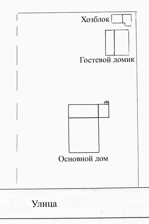 Участок 10 соток правильной формы.  По периметру участка посажена черная смородина.  Также на участке растут...